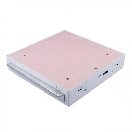 Revizní dvířka protipožární GKF EI45 600 x 600 klička, Stěna