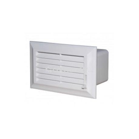 Vzduchotechnická mřížka 110x55 mm PVC regulovatelná 572