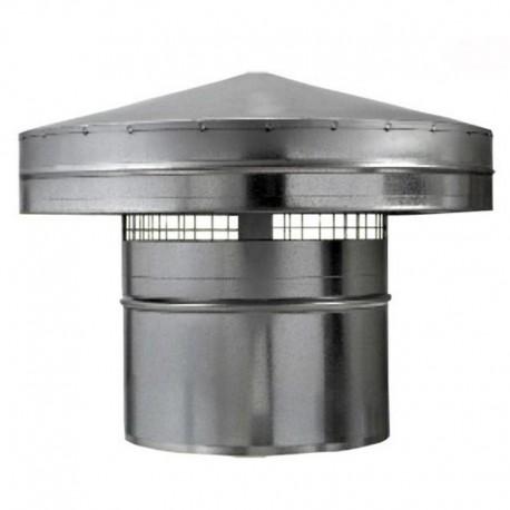 Protidešťová stříška kovová Dalap Ø 150mm