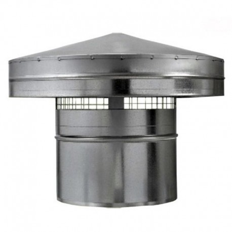 Protidešťová stříška kovová Ø 250mm