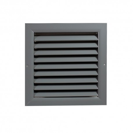 Větrací mřížka z vysoce kvalitního extrudovaného hliníku - 300x300 mm, šedá
