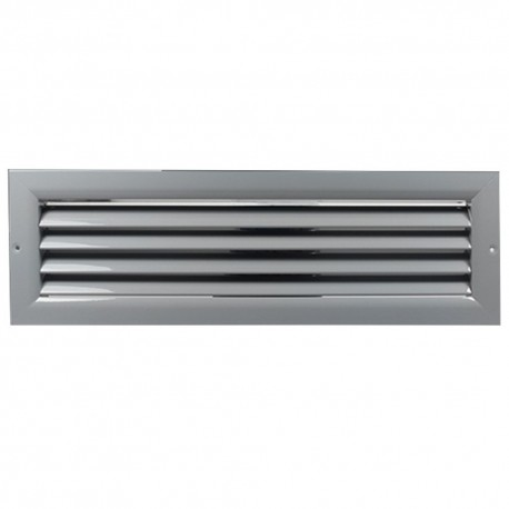 Větrací mřížka z vysoce kvalitního extrudovaného hliníku - 800x600 mm, šedá