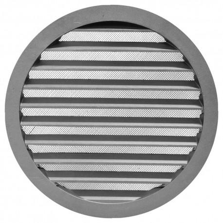 Větrací mřížka AV z pevného hliníku Ø 250 mm