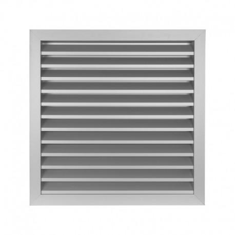 Větrací mřížka z vysoce kvalitního extrudovaného hliníku - 315x315 mm