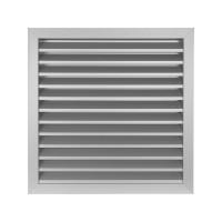 Větrací mřížka z vysoce kvalitního extrudovaného hliníku - 450x450 mm